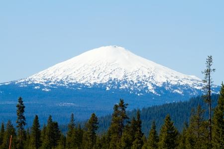 Mount Bachelor in Oregon is
