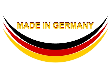 Made in Germany Abstract - Illustration
