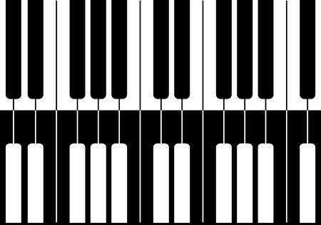 Music design Black piano mirror