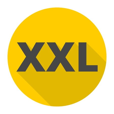 XXL icon with long shadow