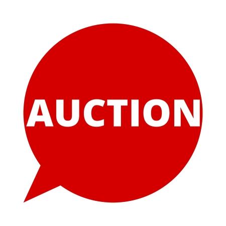Speech Bubble auction