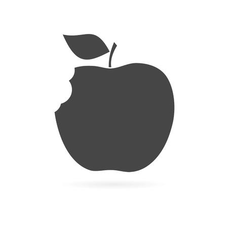 Illustration pour Apple - vector icon - image libre de droit