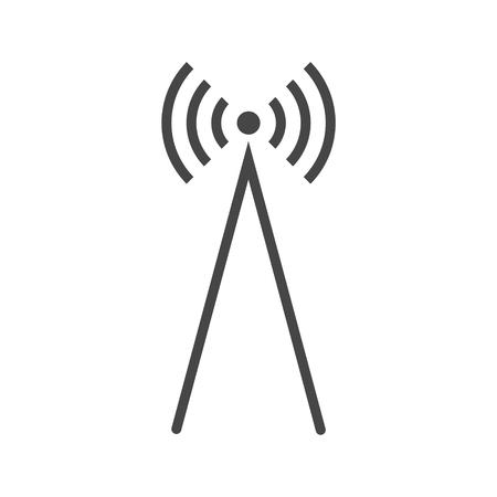 Illustration pour Antenna Icon Vector, Transmitter icon - image libre de droit