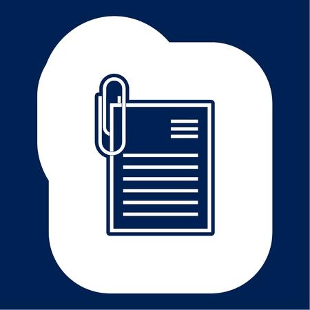 Vector Document Icon - Illustration