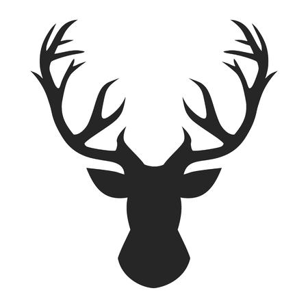 Illustration pour Deer head, vector illustration. - image libre de droit