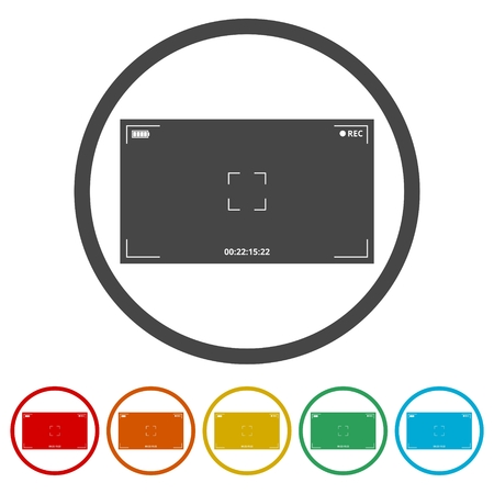 Camera viewfinder, 6 Colors Included
