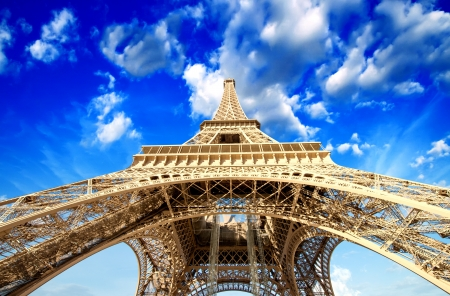 Paris. Powerful structure of