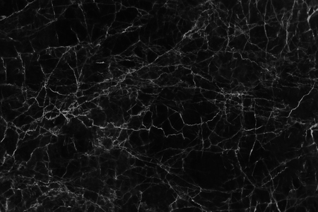 Photo for Black marble texture and background for design pattern artwork. - Royalty Free Image