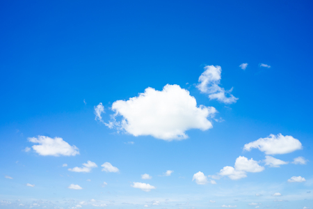 Beautiful clouds with blue sky natural background.
