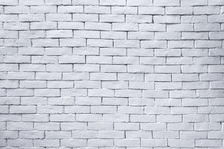 Photo pour Old white bricks wall for texture and background. - image libre de droit