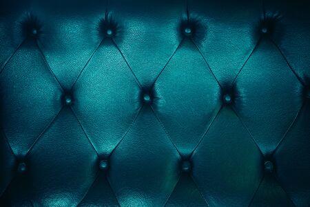Photo pour Old sofa leather texture and background. - image libre de droit