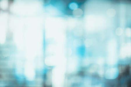 Foto de Abstract blur interior clinic or hospital for background. - Imagen libre de derechos