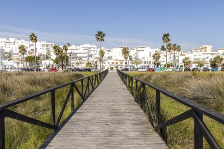 Conil de la Frontera, Spain, one of the White Villages (Pueblos Blancos) of the Province of Cadiz in Andalucia