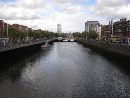 River Liffey and central Dublin