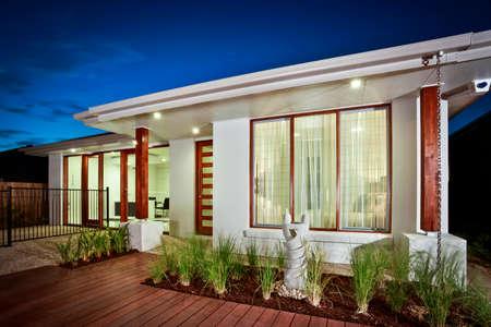 A new architecturally designed home in Australia