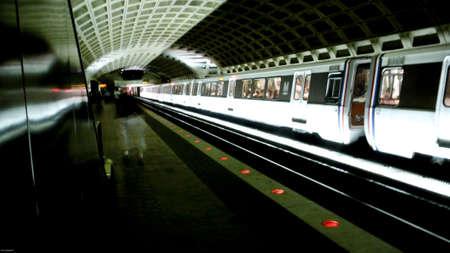 The DC Metro,Washington DC,9/08