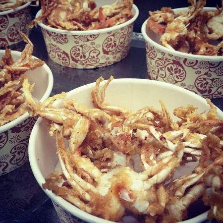 Deep Fried Baby Crabs Is One Of The More Popular Korean Street