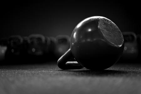 kettlebells in a crossfit gym II