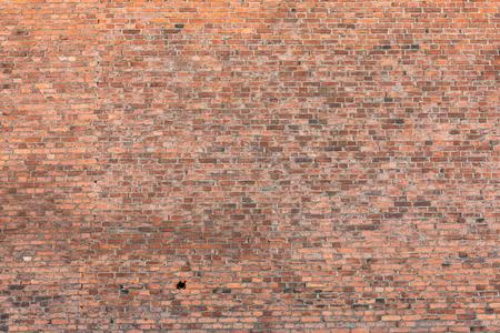 Photo pour Old messy brick wall texture background exterior - image libre de droit