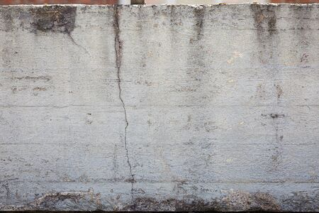 Photo pour Grey concrete wall weathered texture background - image libre de droit