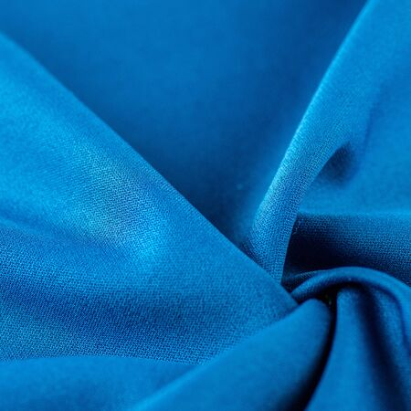 Photo pour High resolution background texture, decorative basis for design, silk blue fabric to make the desired size or shape by inserting the necessary elements or details. - image libre de droit