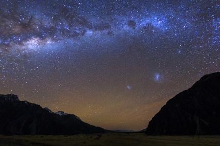 Milky Way at Tasman Vallay,M