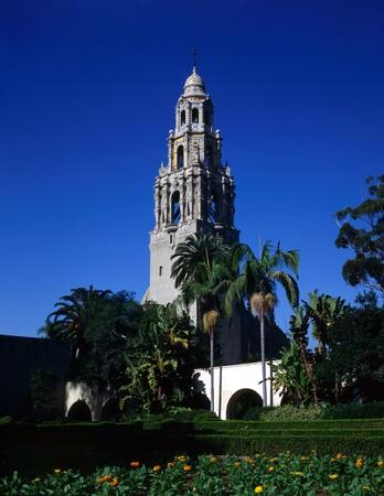 California Tower in Balboa Park, San Diego
