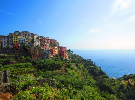 Village on Italian Coast