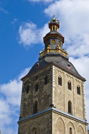 detail of the tower of the church St Ursula in Cologne