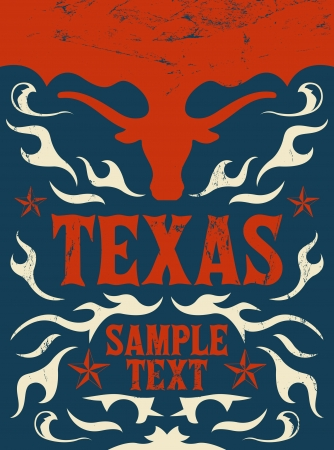 Texas Vintage poster