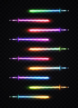 Neon Glow in the Dark Sword