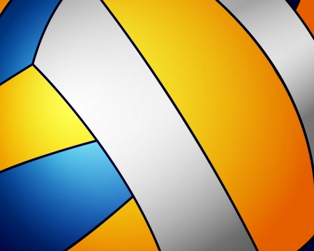 Volleyball ball detail leather texture background