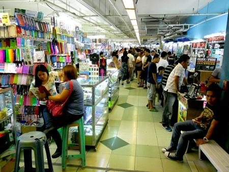 Bazaar Shops in greenhills, san juan city in philippines, asia
