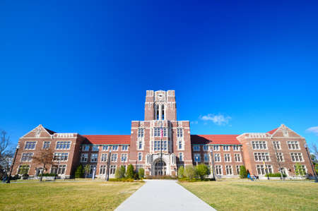 Photo pour The Ayres hall at the University of Tennessee, Knoxville - image libre de droit