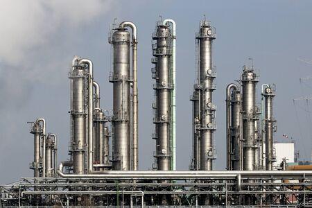 Foto für oil refinery power station plant - Lizenzfreies Bild