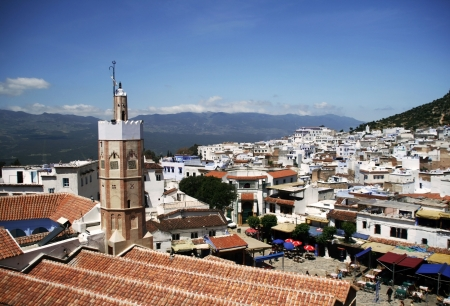 View on Chefchaouen, Morocco