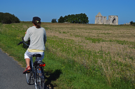 bike ride on the island of Re-France