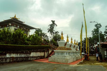 Phuentsholing, Bhutan : 30/9/2017 : A view of Karbandi Monastery/Gompa,Bhutan