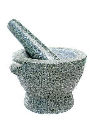 Photo pour A mortar like it`s used in kitchen. - image libre de droit