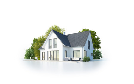 Photo for Detached house - Royalty Free Image