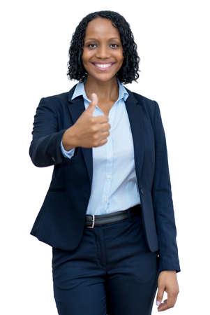 Photo pour Successful mature adult afro american businesswoman - image libre de droit