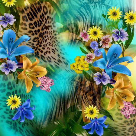 flower leopard