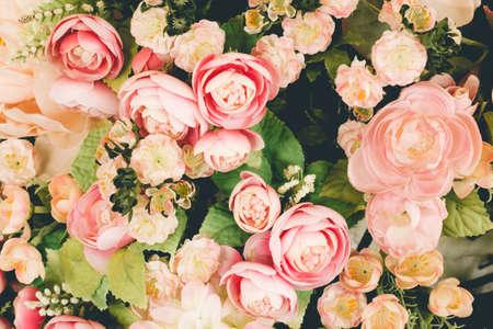 Foto de flower backgrounds - vintage effect style pictures - Imagen libre de derechos