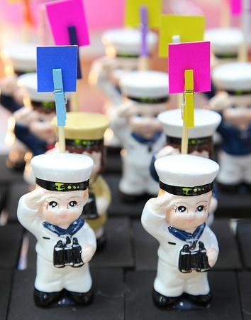 Thai navy dolls