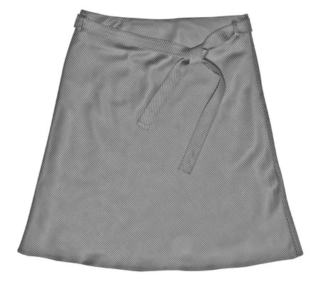 dress. short skirt isolated on white