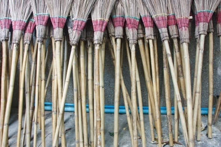 The invention of the broom to clean up the particular There are various options appropriately