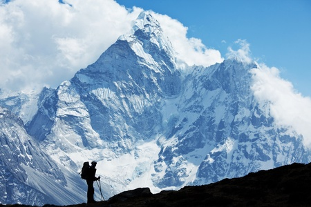 hike in Everest region