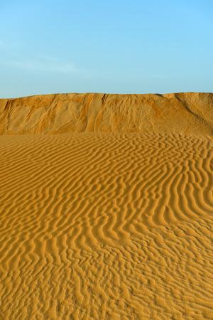 Sand dunes in Rub al-Khali desert, Dhofar region  Oman