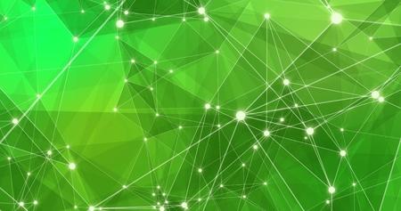 Photo pour Background Abstract Dynamic Plexus Futuristic Technology. 3d render - image libre de droit
