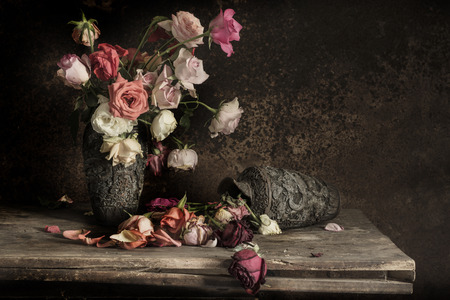 still life Photography with flower